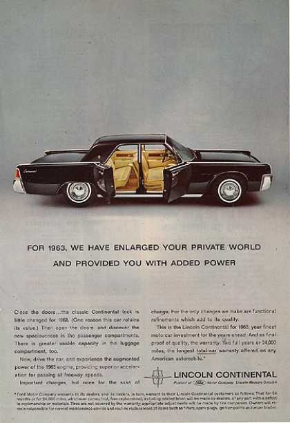 Ford's Lincoln (1962)
