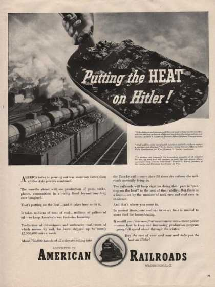 Putting the Heat On American Railroads (1942)