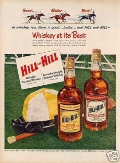 Hill & Hill Whiskey (1951)