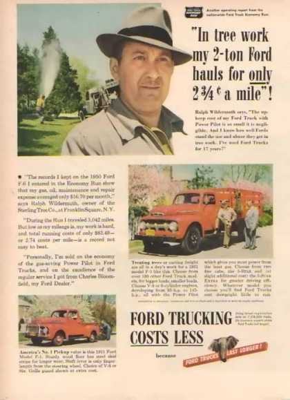 Ford Trucks – F-1 Pick-Up (1951)