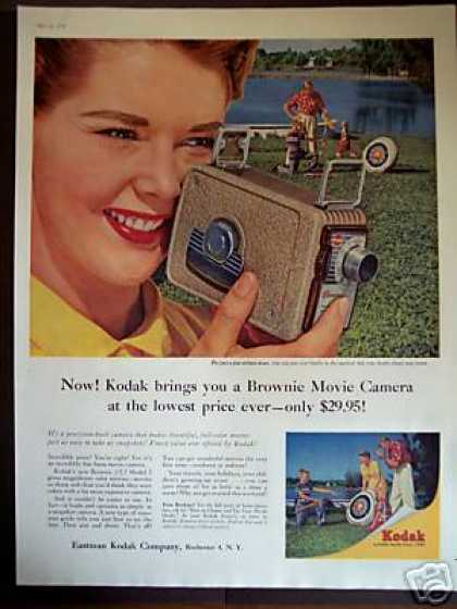 Kodak Brownie F/2.7 Model 2 Movie Camera (1956)