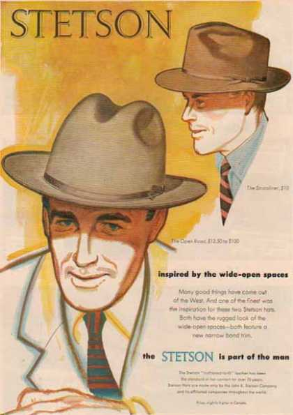 Stetson Hat – The Stratoliner & Open Road (1952)