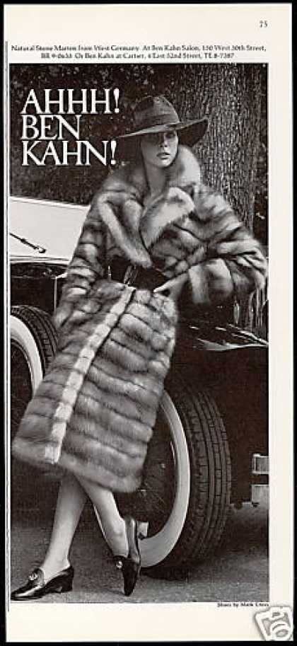 Ben Kahn Fur Coat Pretty Woman Photo (1971)