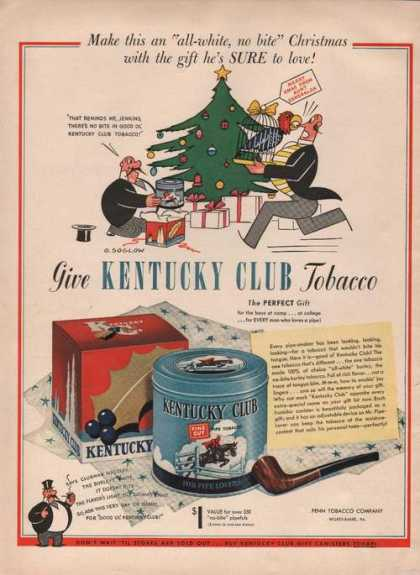 Kentucky Club Pipe Tobacco (1941)