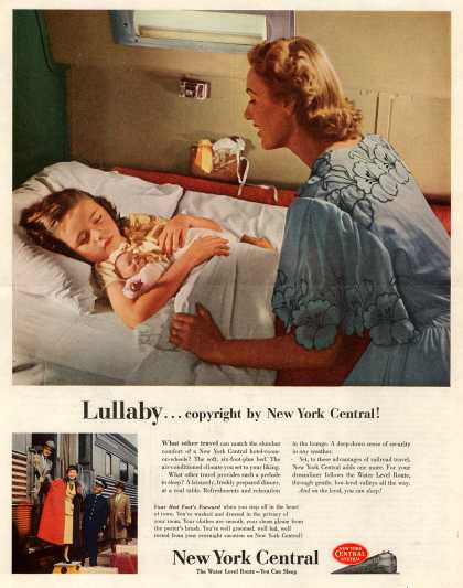 New York Central System – Lullaby...copyright by New York Central (1952)
