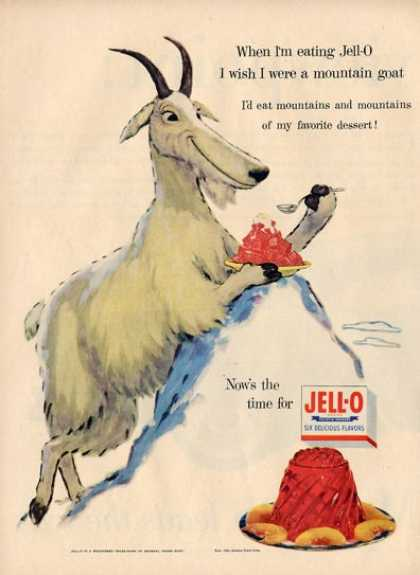 Jello Animal Mountain Goat T (1955)