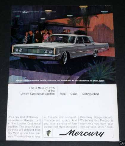 65 Mercury, Breezeway Design (1964)