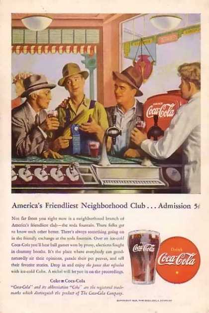 Coke Neighborhood Club (1946)