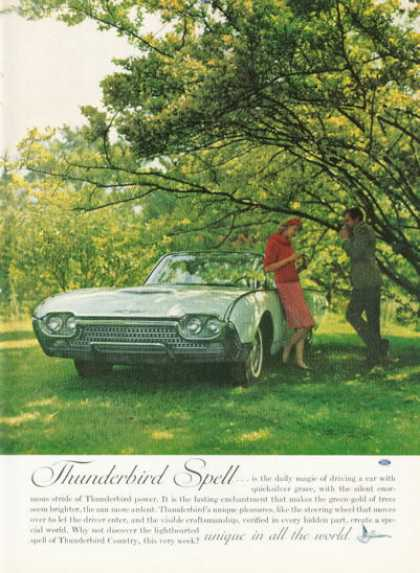 Ford Thunderbird Convertible (1962)