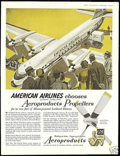 American Airlines Aeroproducts Propellers (1956)