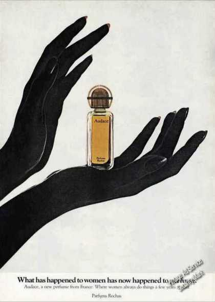 "Audace ""A New Perfume From France"" Nice (1972)"