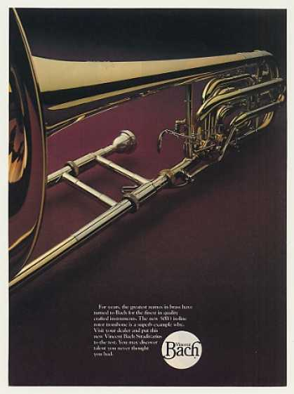 Vincent Bach 50B3 In-Line Rotor Trombone (1979)