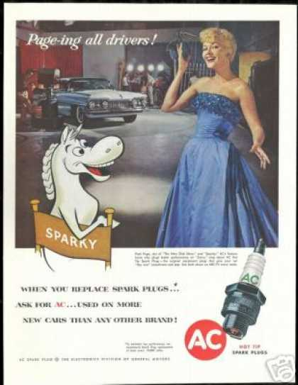 Patti Page Photo Sparky AC Vintage (1958)