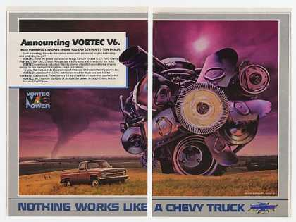 '84 1985 Chevy Pickup Truck Vortec V6 Engine (1984)