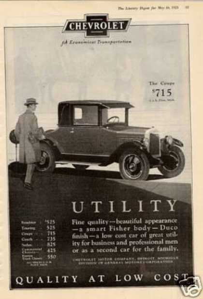 Chevrolet Coupe (1925)
