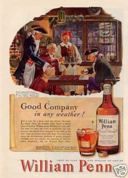 William Penn Whiskey (1947)