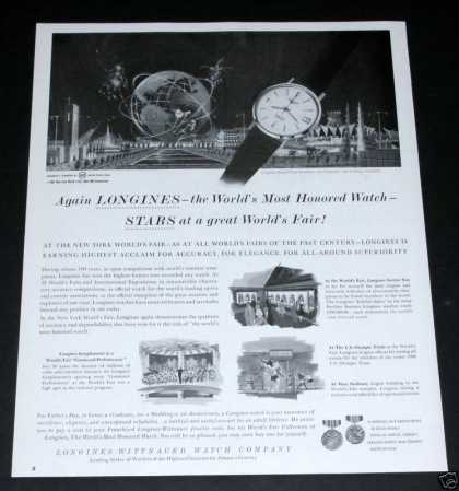 Longines, at the Ny Worlds Fair (1964)