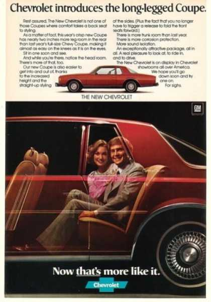 Chevy Caprice Classic Long-Legged Coupe (1977)