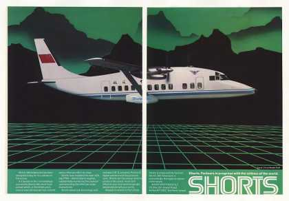 Shorts 360 Advanced Aircraft 2-Page (1986)