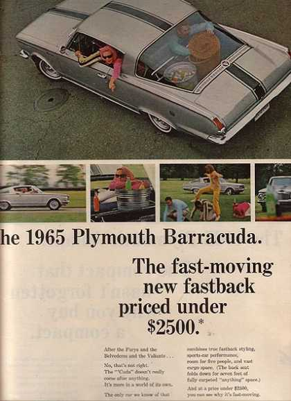 Chrysler's Plymouth Valiant/ Duster/ Barracuda (1964)