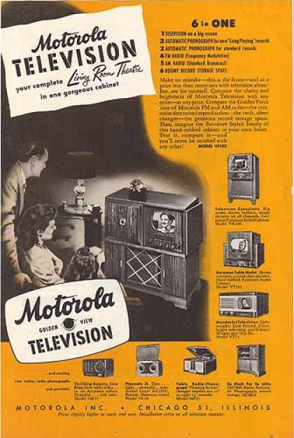 Motorola's Living Room Theatre (1948)
