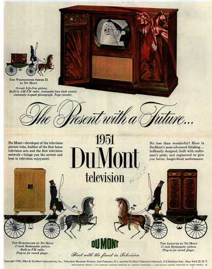 Allen B. DuMont Laboratorie's various – The Present with a Future (1950)
