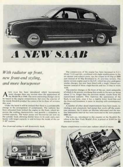 Saab Print Photos and Article (1965)