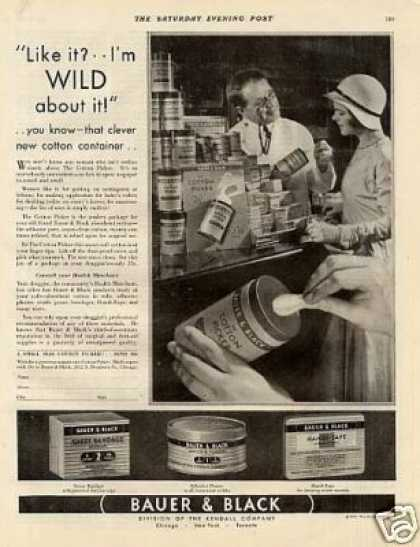Bauer & Black Bandages (1931)
