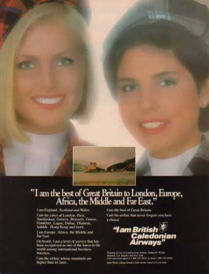 British Caledonian Airways – Great Britain to London – Sold (1986)