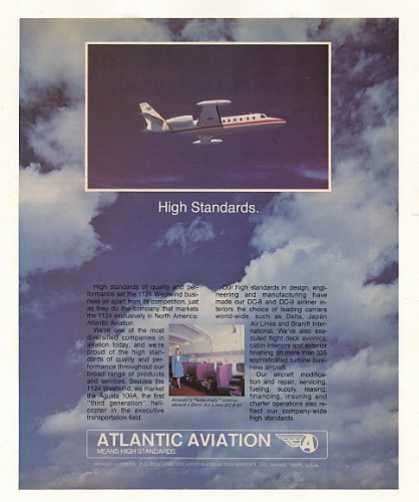 Atlantic Aviation 1124 Westwind Business Jet (1977)