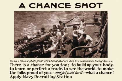 A Chance Shot, Navy Recruiting Station (1914)