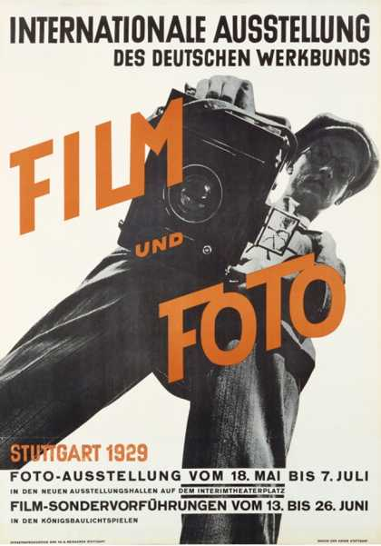 Film and Photo, Film Und Foto, Exhibition Poster, Artist Unknown (1929)