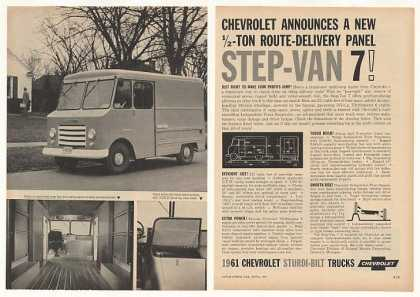 Chevy Chevrolet Delivery Step-Van 7 (1961)