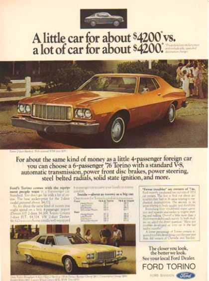 Ford Torino Car – $4200 in (1976)