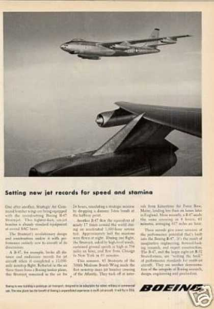 Boeing Ad B-47 Stratojet (1953)