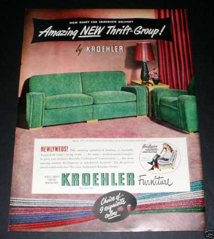 Kroehler Furniture, Newlyweds (1949)