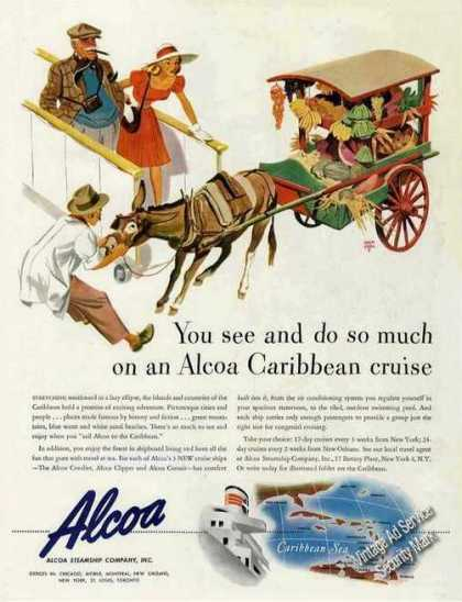 Holmgren Art Alcoa Carribean Cruise (1947)