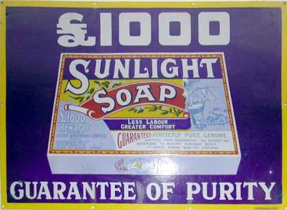 Sunlight Soap £1000 reward – Packet Head On