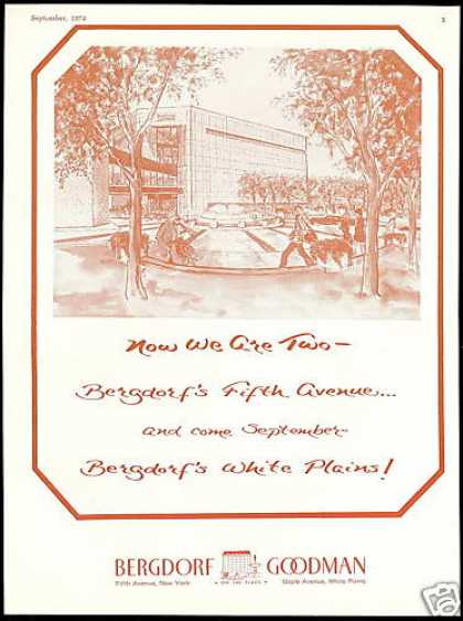 Bergdorf Goodman 5th Ave NY Coming White Plains (1974)
