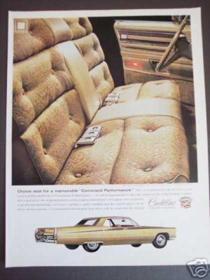Cadillac Gold Sedan Deville Original Car (1968)