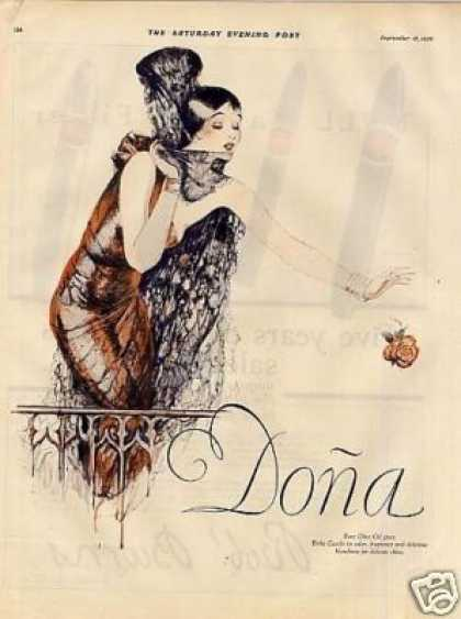 Dona Castile Soap Color Ad 2 Page (1926)