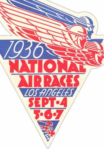 National Air Races Logo (1936)