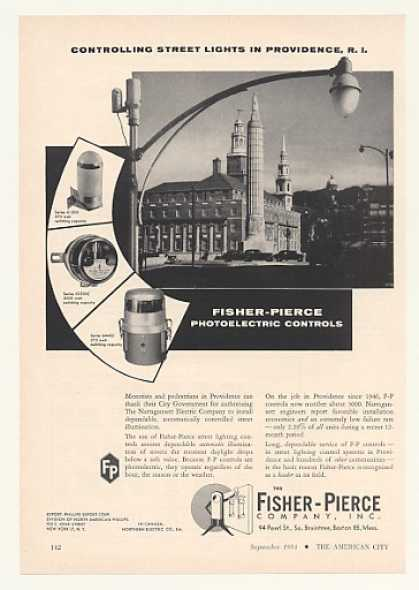 '54 Providence RI Fisher-Pierce Street Light Control (1954)