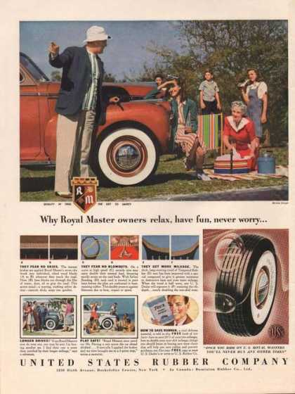 United States Rubber Company Tire (1941)