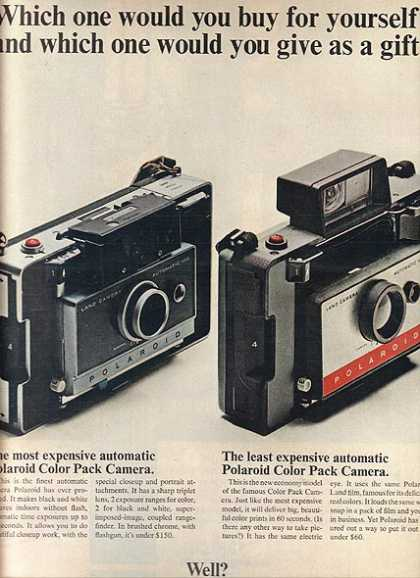 Polaroid's Color Pack Cameras (1966)