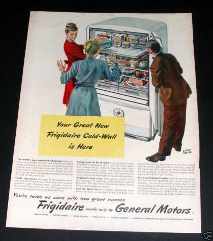 Frigidaire Cold Wall By Gm (1946)
