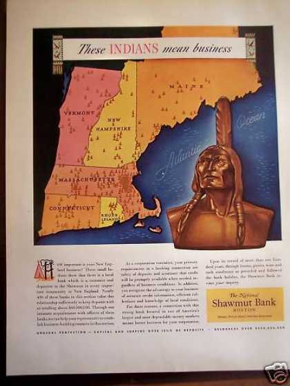 National Shawmut Bank New England (1941)