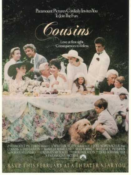 Ted Danson Cousins Movie Promo (1989)