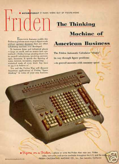 Friden Calculator (1951)