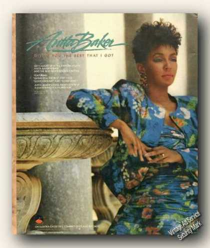 Beautiful Anita Baker Picture Music Promo (1988)